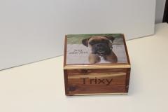 Cedar Box with Photo